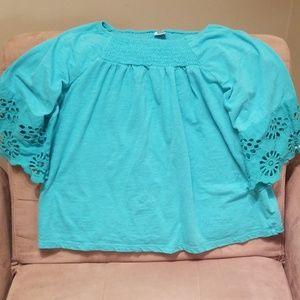 Girl's Arizona 3/4 Sleeve Knit Top